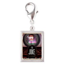 the joke poster Silver Portrait Charm
