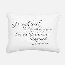 THOREAU2-wallpeel-38x24 Rectangular Canvas Pillow