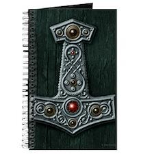 Thors Hammer X Silver Journal