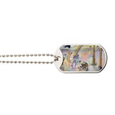 Cats waiting at Rainbow Bridge Dog Tags