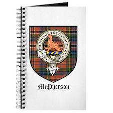 McPherson Clan Crest Tartan Journal