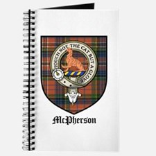 McPherson Clan Crest Tartan Journal
