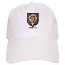 McPherson Clan Crest Tartan Baseball Cap