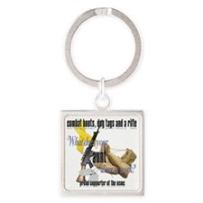 CRDsisterUMUC Square Keychain