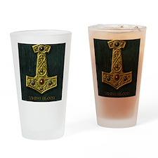 Thors Hammer X Gold- Viking Blood Drinking Glass