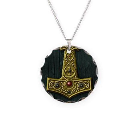 thors hammer x gold viking necklace by admin cp10478859