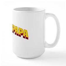 SuperPapa title Mug