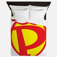 SuperPapa Logo Queen Duvet