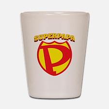 SuperPapa Logo Shot Glass