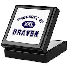 Property of draven Keepsake Box