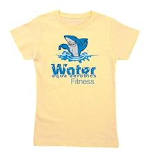 Tommy Mac Aqua Aerobics Water Fitness Girl's Tee