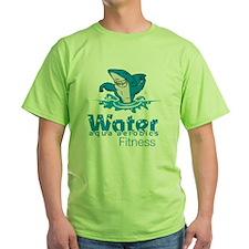 Tommy Mac Aqua Aerobics Water Fitnes T-Shirt