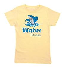 TMac Water Aqua Aerobics Fitness Girl's Tee