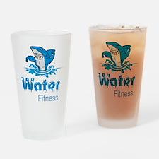 TMac Water Aqua Aerobics Fitness Drinking Glass