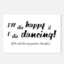 I'll Die Happy if I Die Dancing Postcards (Package