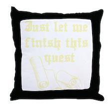 questrollC Throw Pillow