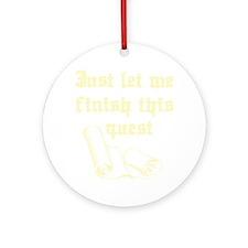 questrollC Round Ornament