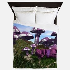 Mushrooms Queen Duvet