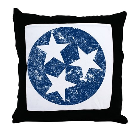TN_shirt_bl Throw Pillow