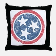TN_shirt_fade Throw Pillow