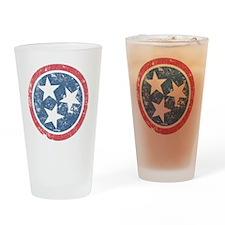 TN_shirt_fade Drinking Glass