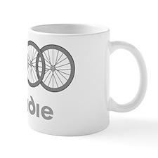Roadie Cycling Shirt - White Mug