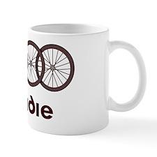 Roadie Cycling Shirt - Red Small Mug