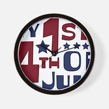 1st Wall Clock