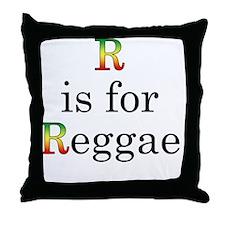 r4reggae2 copy Throw Pillow
