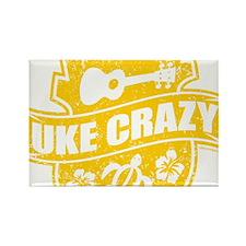 Uke Crazy Rectangle Magnet