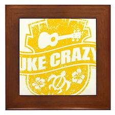 Uke Crazy Framed Tile