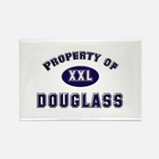 Property of douglass Rectangle Magnet