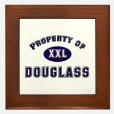 Property of douglass Framed Tile
