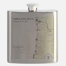 Oregon Map Flask
