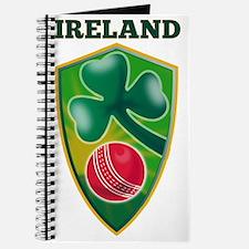 cricket ball shamrock Ireland shield Journal