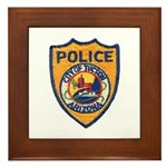 Tucson Police  Framed Tile