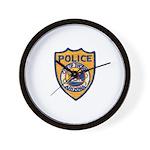 Tucson Police  Wall Clock