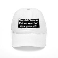 anti obama what did obama dod Baseball Cap