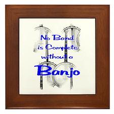 Banjo Framed Tile