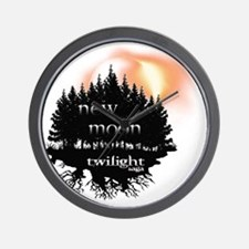Twilight New Moon Forest Eclipse edit Wall Clock