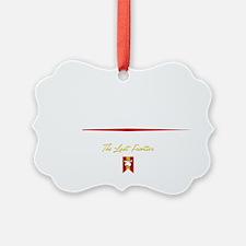 Juneau Script B Ornament
