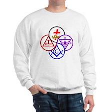 york-pinwheel-alt Sweatshirt