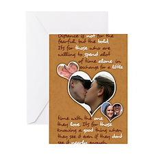 Tabitha Elmos Custom Journal 1 Greeting Card