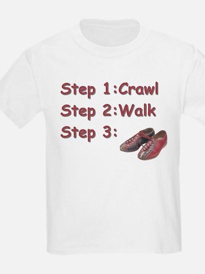 Bowling Steps Kids T-Shirt