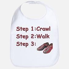 Bowling Steps Bib