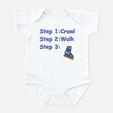 Roller Blading Baby Infant Bodysuit