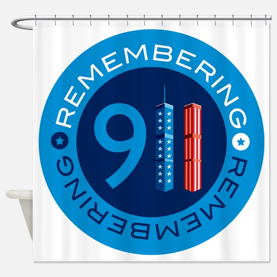 remembering911 Shower Curtain