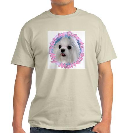 Maltese Ash Grey T-Shirt