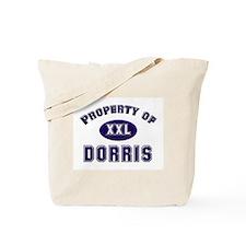 Property of dorris Tote Bag