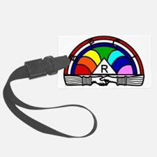 Rainbow Luggage Tag